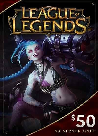 Amazon.com: League of Legends $10 Gift Card - 1380 Riot