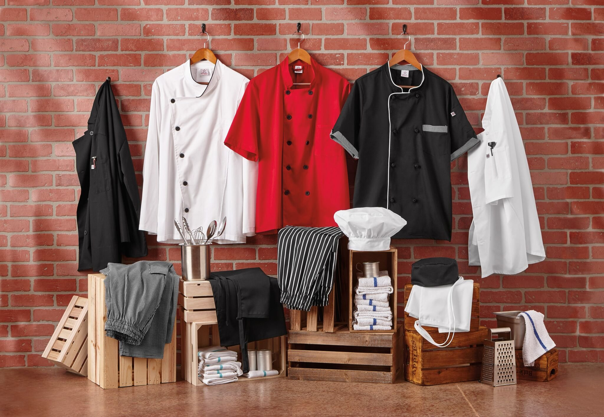 Five Star 18120 Unisex Executive Chef Coat (White, XXX-Large) by Five Star (Image #4)