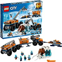 LEGO City Arctic Mobile Exploration Base 60195 Building Kit, Snowmobile Toy and Rescue Game (786 Piece)