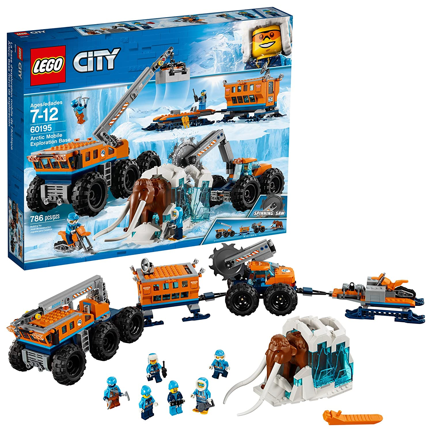Amazoncom Lego City Arctic Mobile Exploration Base 60195 Building