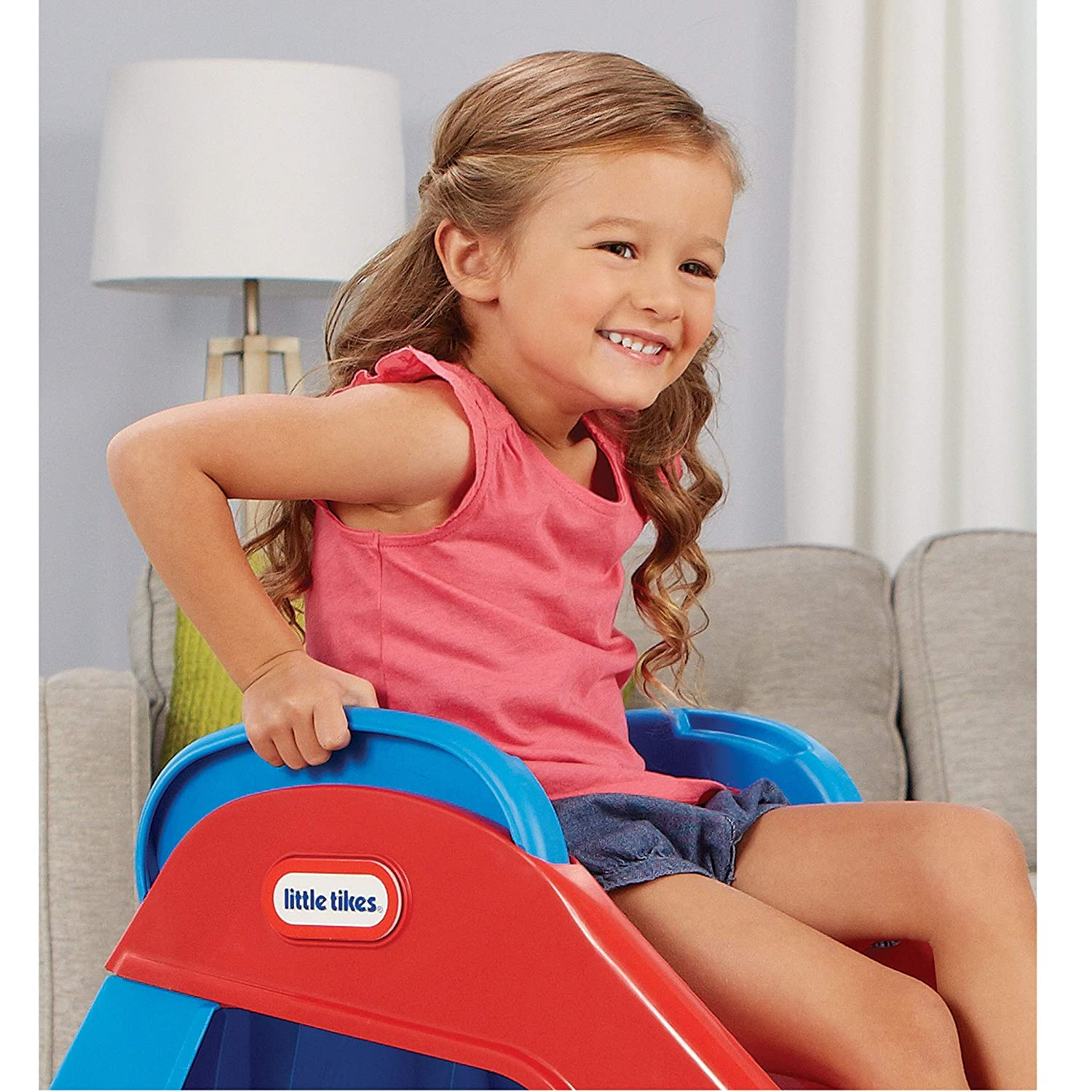 f11cb5169 Little Tikes Red Blue First Slide