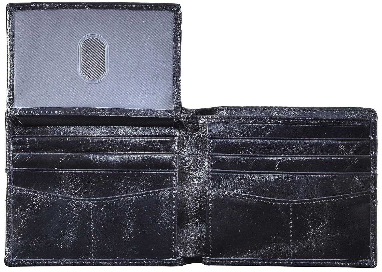 Amazon.com: woogwin para hombre Bifold portafolios RFID ...