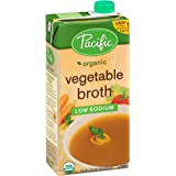 Pacific Foods Organic Vegetable Broth, Low Sodium-32 Oz