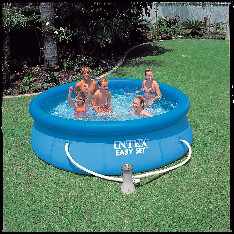 Intex Easy Set - Piscina inflable 305 x 76 cm con depuradora: Amazon.es: Jardín