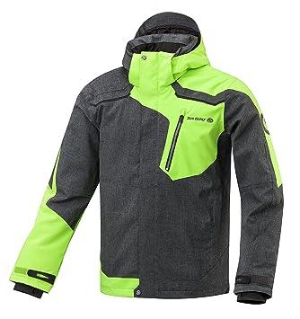 Sun Valley Mayor - Chaqueta de esquí para Hombre (Gris/Verde), Todas Las Estaciones, Unisex, Color Gris/Verde, tamaño XL: Amazon.es: Deportes y aire libre