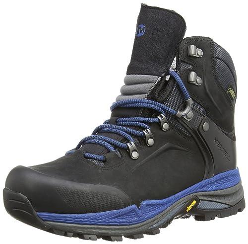 d8c8303712f Merrell Men's Crestbound Gore-Tex Mid Hiking Boot