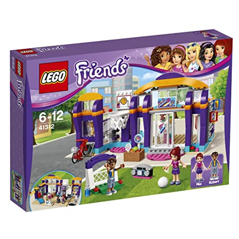 new design first look huge inventory LEGO Friends 41312 - Set Costruzioni Il Centro Sportivo di Heartlake
