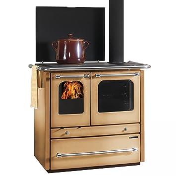 La Nordica-Cocina de Leña Sovrana Evo 96,4 cm, Color Café: Amazon.es: Bricolaje y herramientas