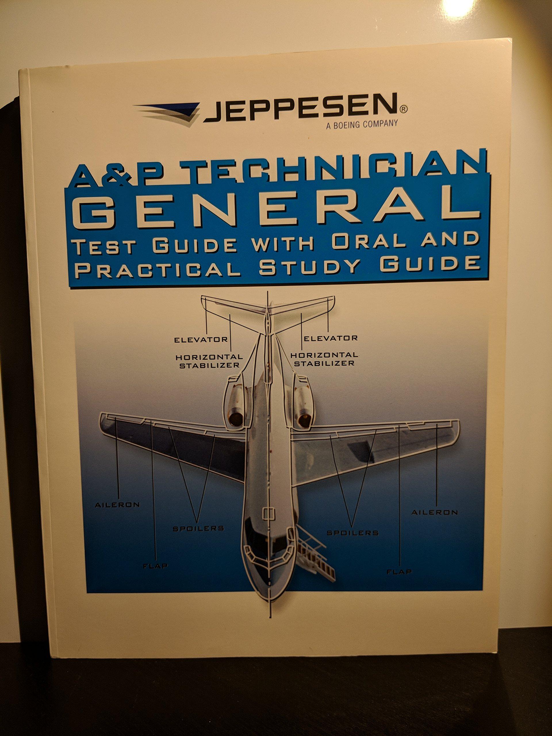 Jeppesen General AMT (A&P) Test Guide - 10002000: Jeppesen: 9780884875420:  Amazon.com: Books