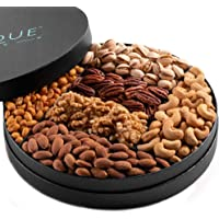 """Gourmet Nut Gift Tray - 10"""", Freshly Roasted Assorted Nuts for Holiday and Corporate Gifting, Thanksgiving Gift, Hostess…"""
