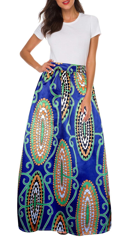 5f7d4ec04f African High Waist Skirts Pics