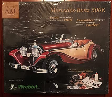 Amazon Com 1935 Mercedes Benz 500k Built Art Collection Model Kit