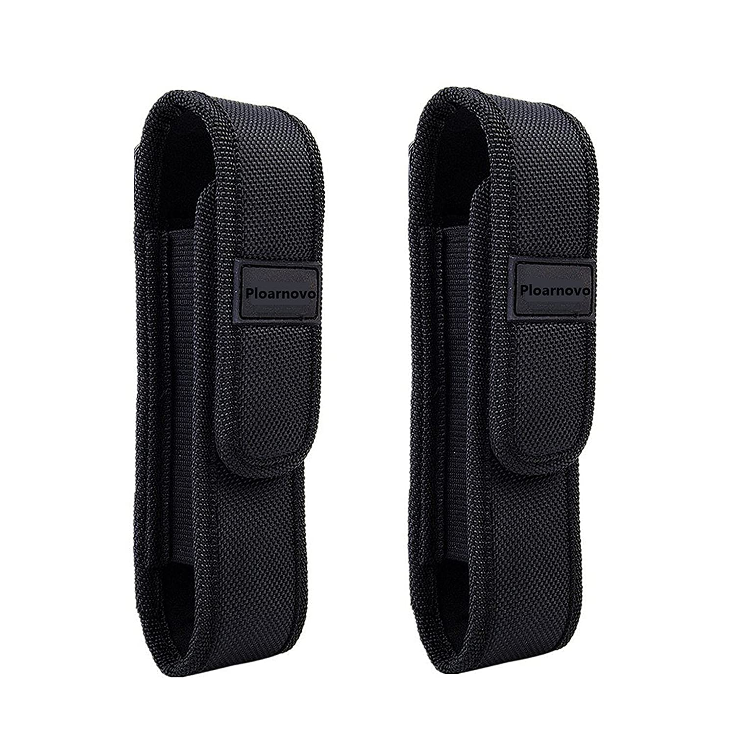 Ploarnovo 2Pcs Flashlight Holster Pouch Holder for 5 7 Flash Light Tactical Flashlight Holster