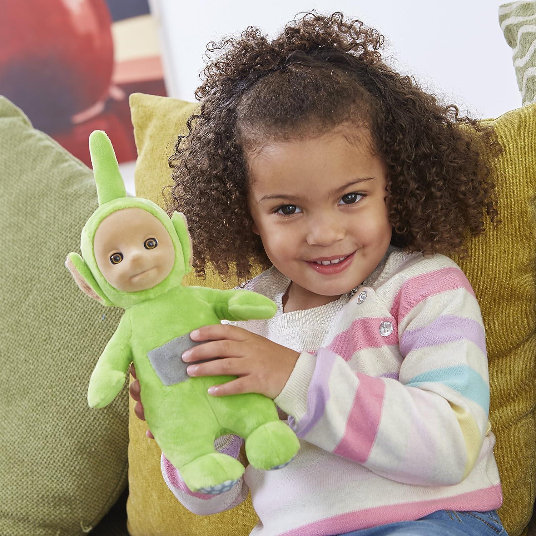 Teletubbies Talking Soft Toy-Dipsy vert peluche Peluche Avec Son /& Expressions
