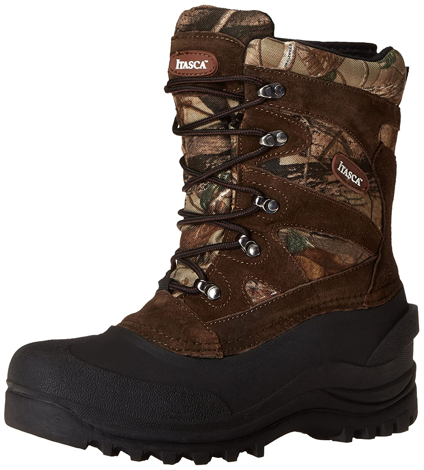 Itasca Men's Ketchikan CM RT Ski Boot Itasca Footwear Ketchikan Camo RT-M