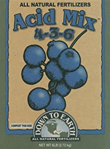 Down To Earth All Natural Fertilizers Acid Mix