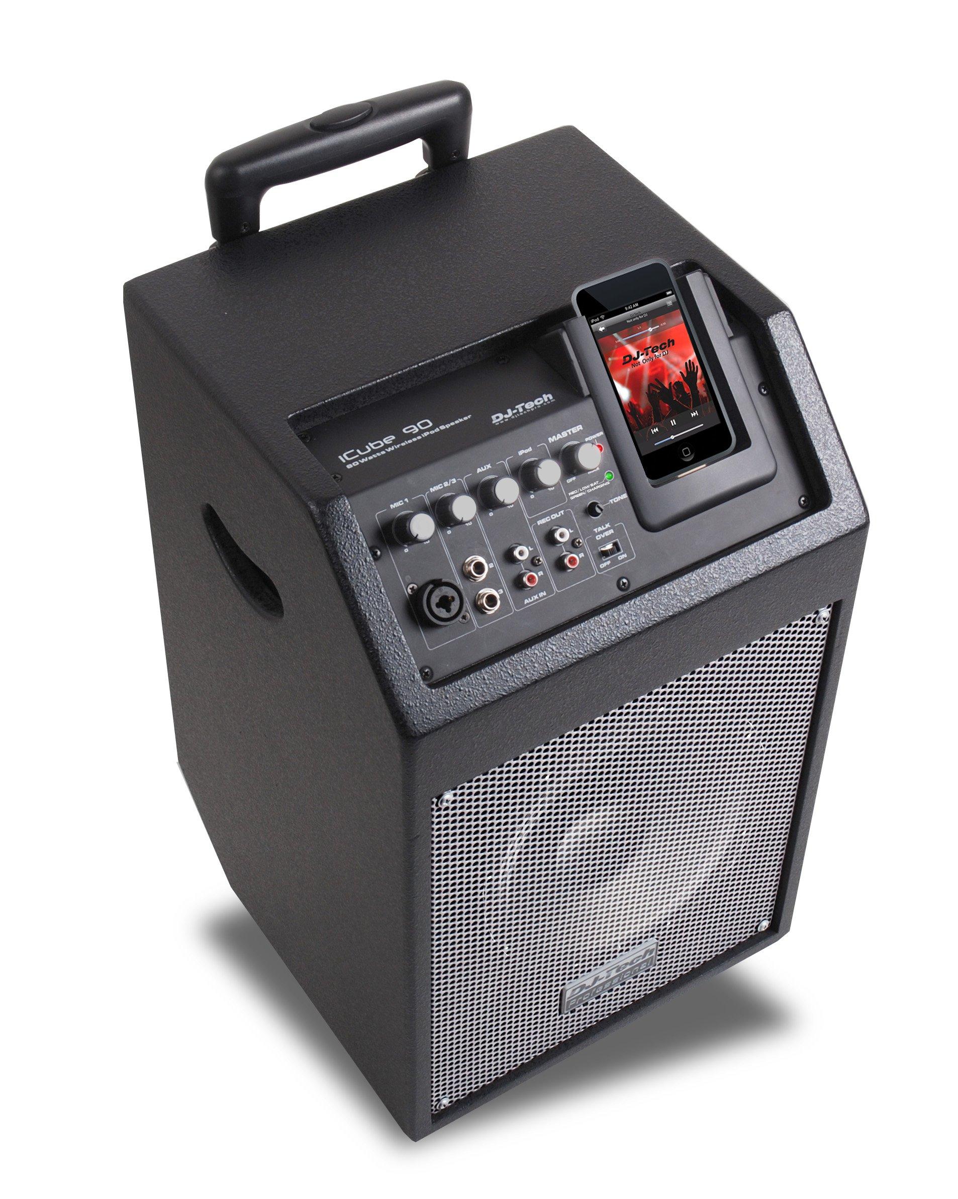 DJTECH ICUBE90 Amplifier Speaker