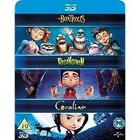 Laika 3D Boxset- Paranorman/ Coraline/ Boxtrolls [Blu-ray] [2015] [Region Free]