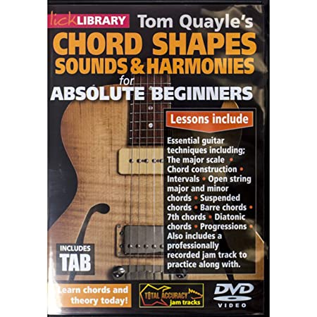 Tom Quayle\'s Chord Shapes, Sounds And Harmonies For Absolute ...