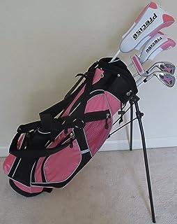Amazon.com: Boys Junior Club de Golf Set con soporte bolsa ...