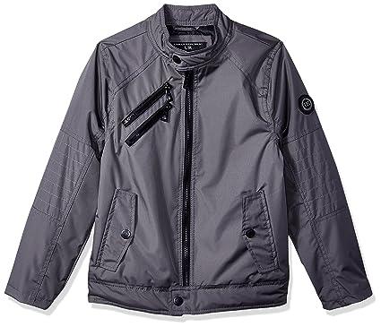 51c8dbe72 Amazon.com  Urban Republic Boys  Cloud Ballistic Moto Jacket  Clothing