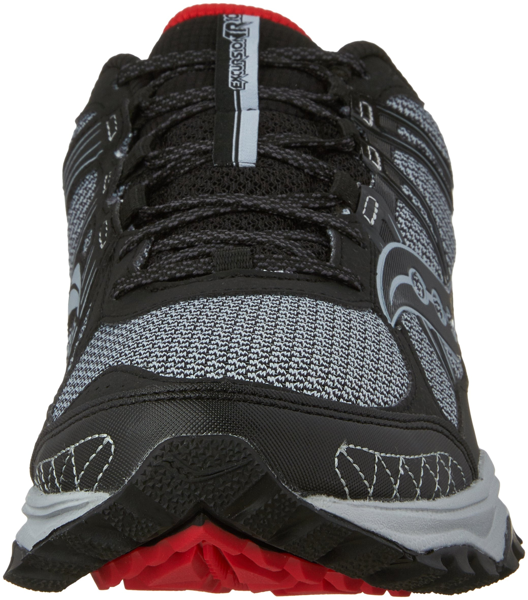 Saucony Excursion TR10 Wide Men 9 Grey | Black | Red by Saucony (Image #4)