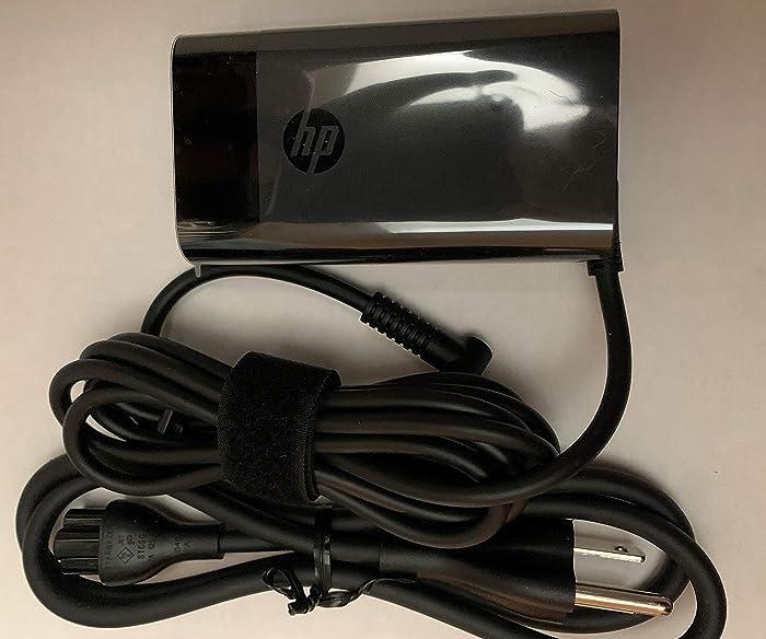 New Replacement HP 65W 4.5/3.0mm b Blue Tip P/N: L23960-001, L24008-001, TPN-LA14, Compatible with: HP Spectre x360 13-4193nr, HP Spectre x360 15-ap001nx 15t-ap000