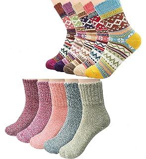 Toddler Kids  Knit Socks Fall Winter Warm Calf Socks Anti-slip Knitted TPG