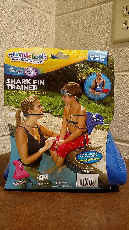 33-66 lbs Shark Fin Trainer with Swim Googles