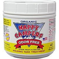 $34 » Happy Campers Organic RV Holding Tank Treatment - Medium jar, 40 Treatments for RV,…