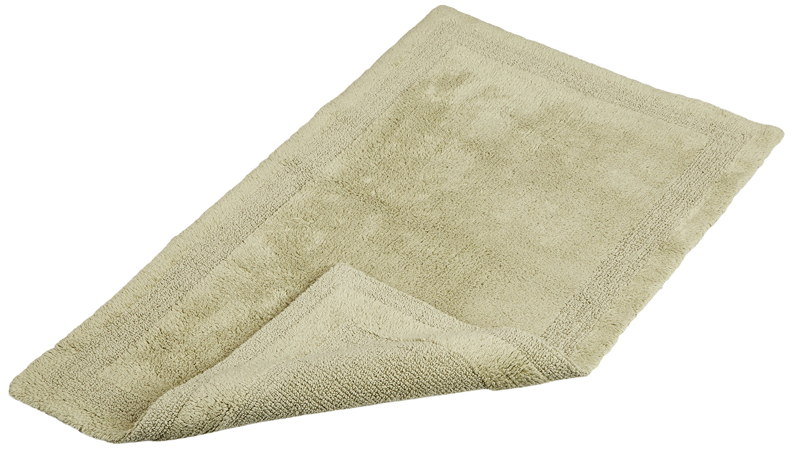 Pinzon Luxury Reversible Cotton Bath Mat - 30 x 50 inch, Sage