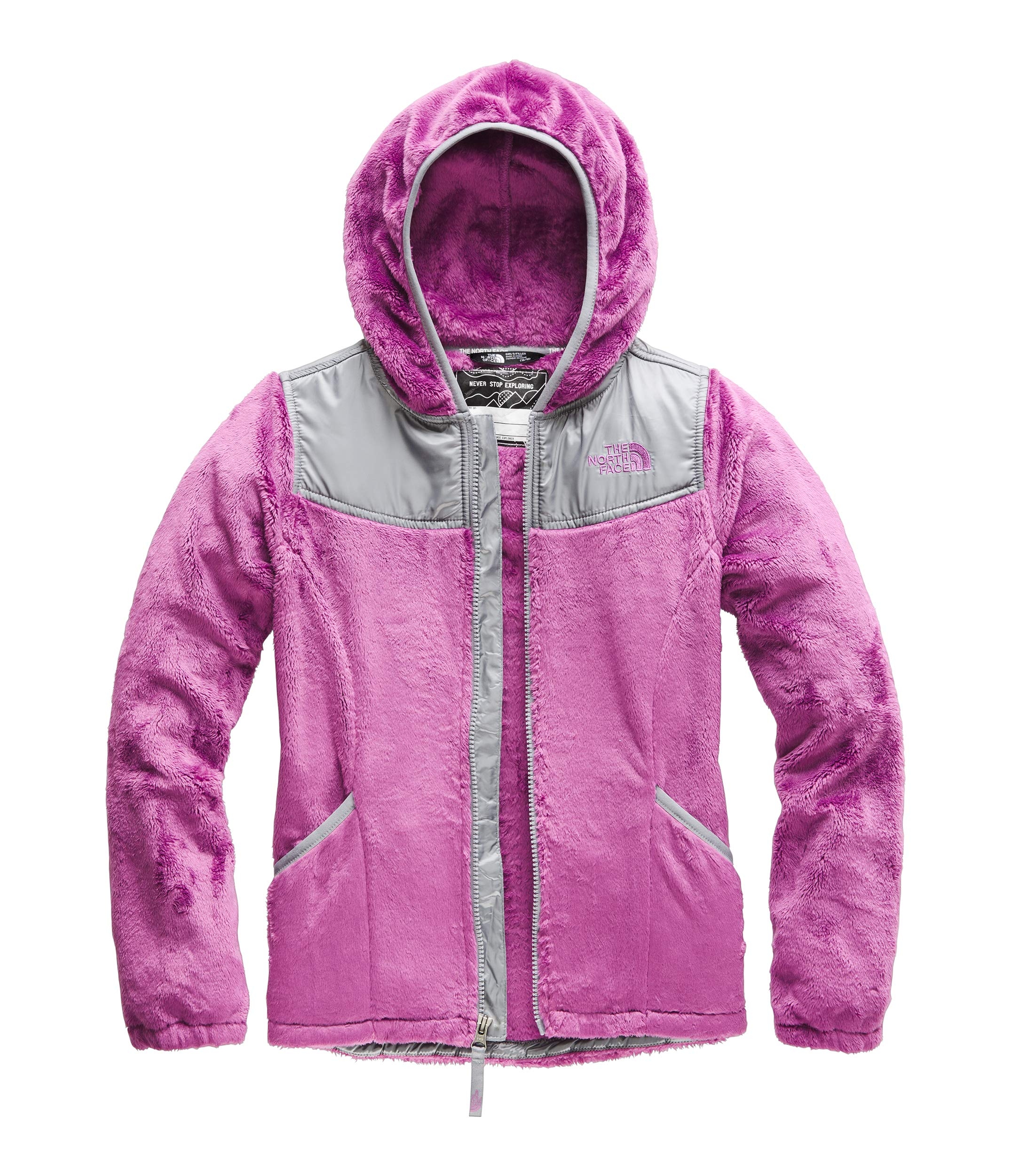 The North Face Girls' OSO Hoodie, Wisteria Purple, XXS