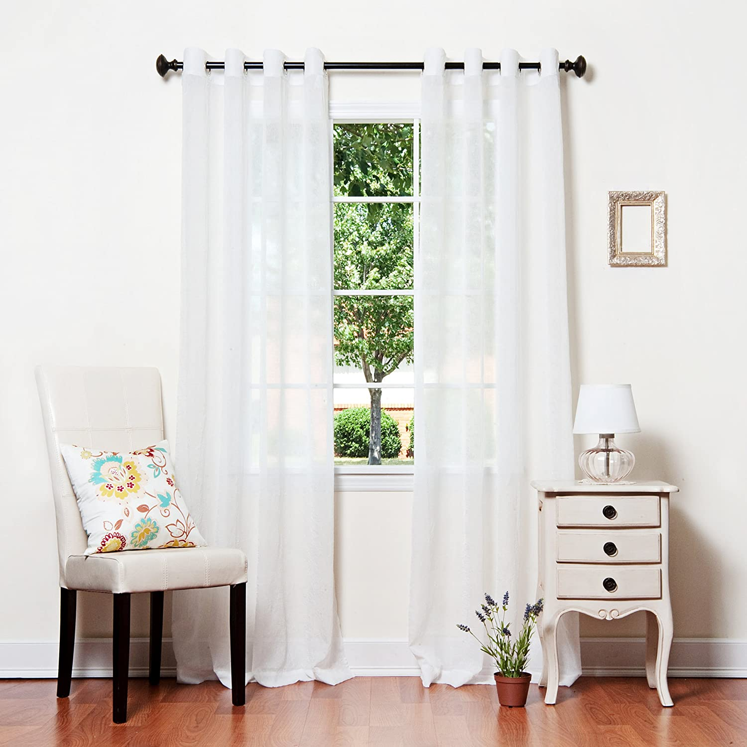 Amazon.com: Non Blackout Curtains: Home & Kitchen