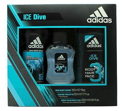 250 Dive 50 Di Spray 150 Toilette Eau Vaporizzatore Doccia Gel MlDeodorante Adidas Ml De Ice Yy6gbv7f