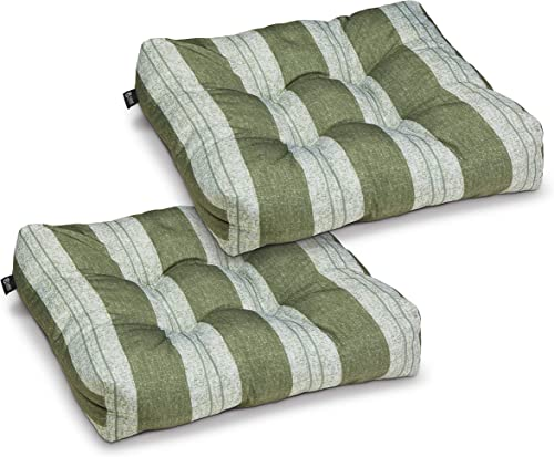Classic Accessories Water-Resistant 19 x 19 x 5 Inch Square Patio Seat Cushion - a good cheap outdoor chair cushion