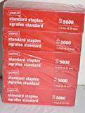 Staples Standard Staples 5 Boxes - 25000 Staples