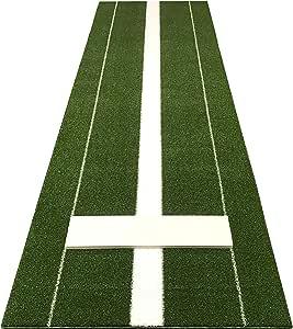 Training Aid Baseball Mat Softball Pitching Mat Mound Green 2 feet x 3 feet