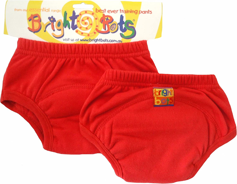 Bright Bots Potty Lot de 2/ , rouge, Taille XL, 30/–36/mois