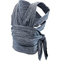 Boppy ComfyFit - Mochila portabebé para un porteo natural, color gris