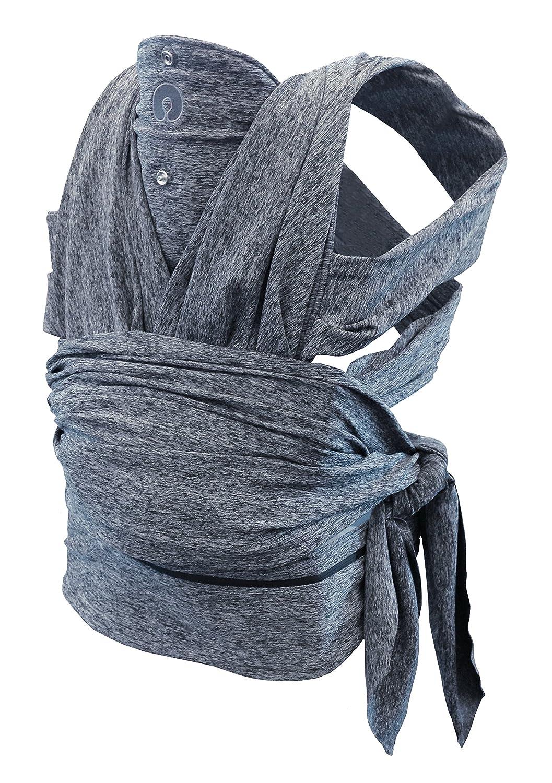 Boppy ComfyFit - Mochila portabebé para un porteo natural, color gris 07079949470000