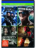 Doom / Pitch Black / Serenity / Hellboy II: The Golden Army Four Feature Films [DVD] (Bilingual)