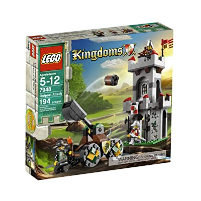 LEGO Kingdoms Outpost Attack 7948: Toys & Games
