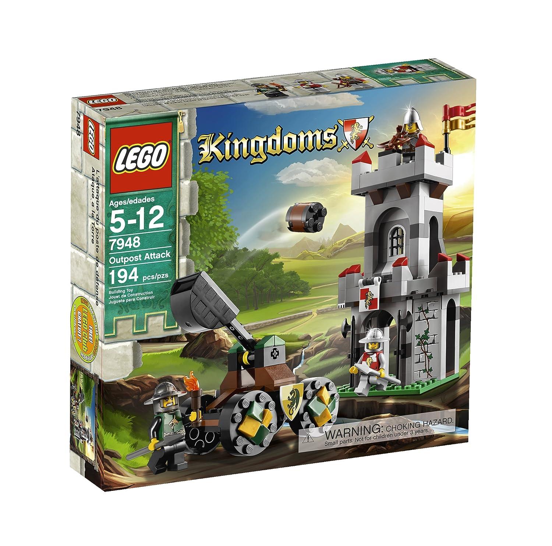 Kingdoms Lego Kingdoms Attack Attack 7948 Outpost Outpost Lego zVGqMpLSU