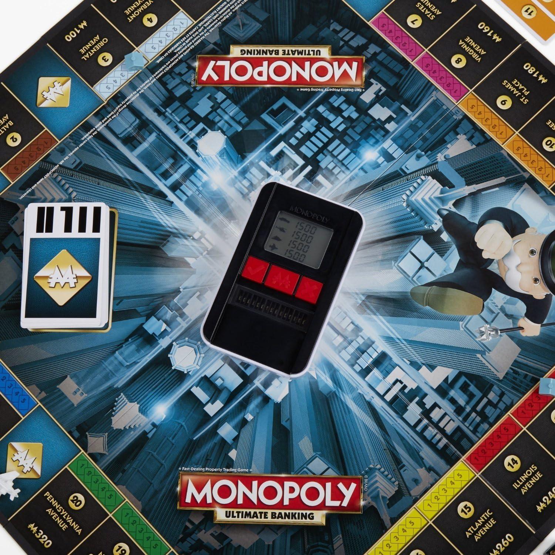 Monopolio Ultimate banca Juego: Hasbro Gaming: Amazon.es: Juguetes y juegos