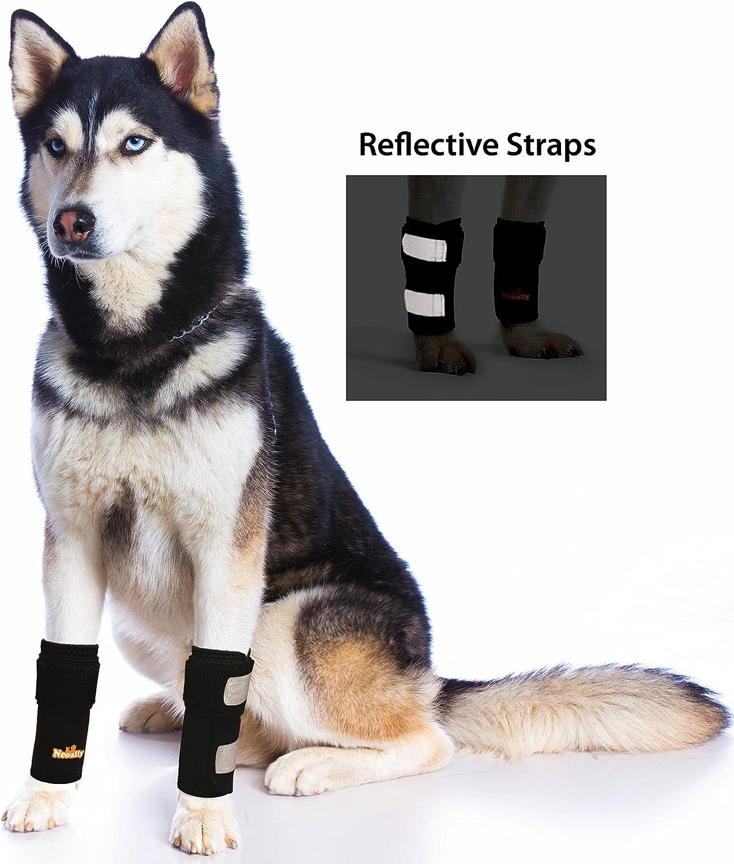 Par de tirantes delanteros para patas de perro y gato (S/M)