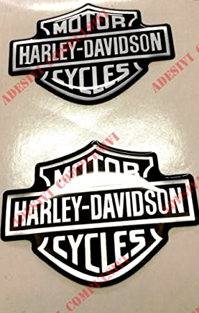 Stickers Resin 3d Crest Logo for Tank Harley Motorcycle Davidson Custom 95x70