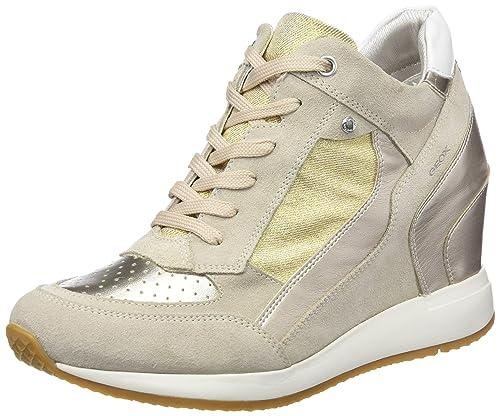 Geox Nydame, Zapatillas Altas para Mujer: Amazon.es: Zapatos y complementos