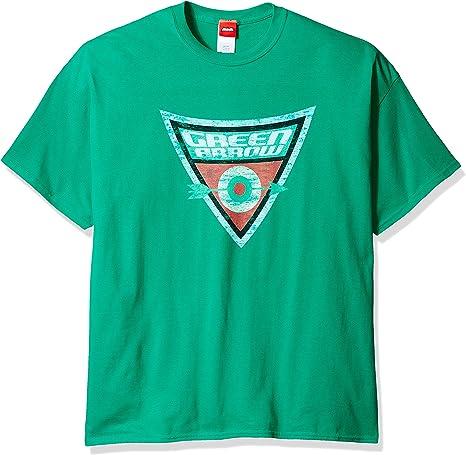 FEA Merchandising La Flecha Verde Shield Bullseye Verde Adulto Camiseta: Amazon.es: Ropa y accesorios