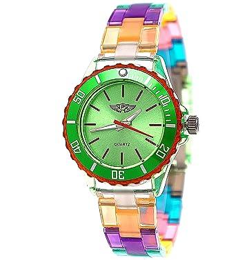 Armbanduhr damen kunststoff
