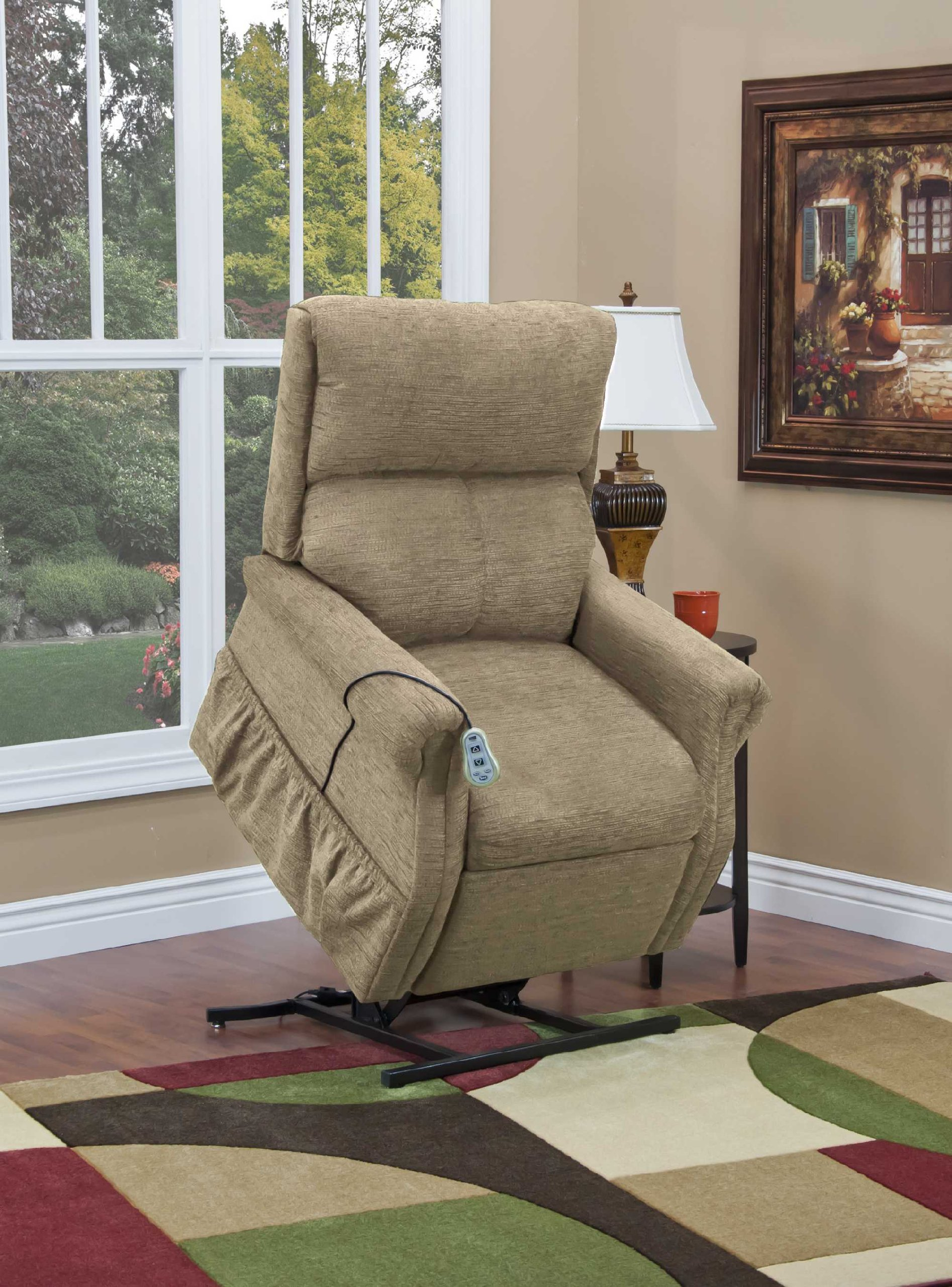 1100 Series Three-Way Reclining Lift Chair - Cabo Color: Peral